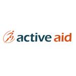 Logo for active aid, som er partner med Coach Mølvad
