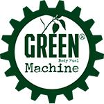 Logo for Green Machine, som er partner med Coach Mølvad